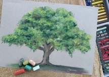 Learn to paint with pastels in Brisbane with Delicious Art