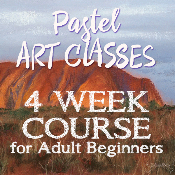 Pastel art classes for adult beginners 4 week course