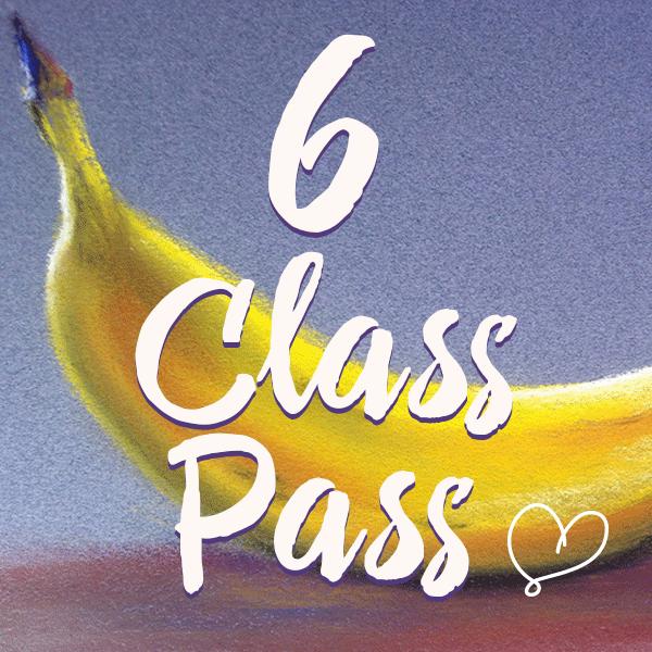 6 Class Pass Delicious Art