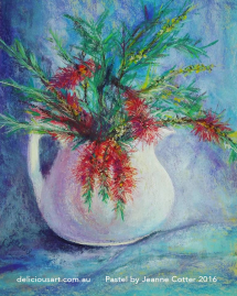 bottle-brush-in-a-jug-by-jeanne-cotter-delicious-art