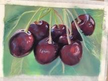 Cherries at Delicious Art Class Brisbane 2018 IMG_7318