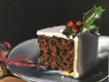 Christmas Cake Delicious Art Classes Brisbane 2018 IMG_7593