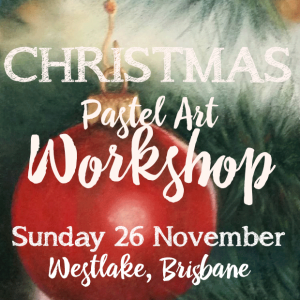 Delicious Art Christmas Pastel Workshop Brisbane