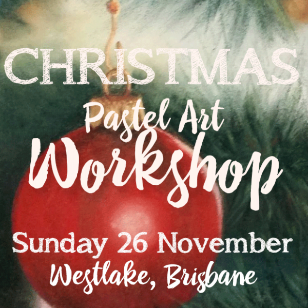 Delicious Art Christmas Pastel Workshop Brisbane