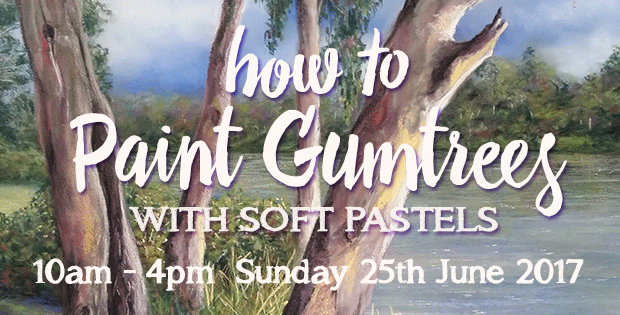 How to paint gum trees