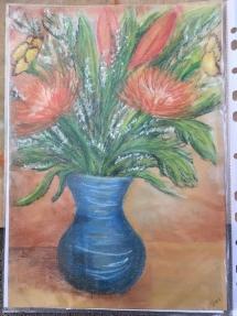 Flower Vase by Sallie Delicious Art Brisbane.jpg