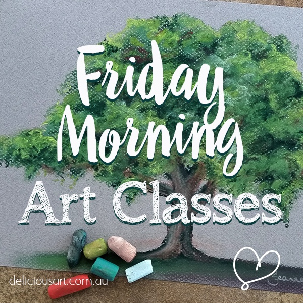 Friday Pastel Art Class