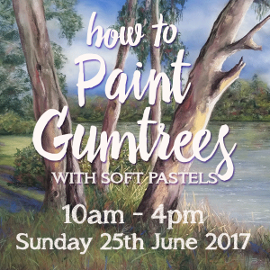 Learn to paint gum trees