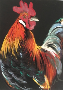 Delicious Art Classes Brisbane Rooster