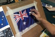 Australia Day Art