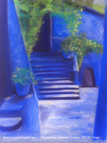 italy-liguria-pastel-by-jeanne-cotter