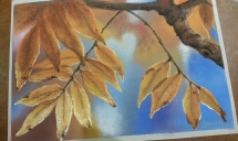 Autumn Leaves Light by Jeanne Cotter