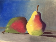 Pears by Val Art Class Brisbane Pastels IMG_8134