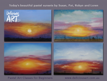 sunset-pics-delicious-art-pastel-art-classes-for-beginners-9-11-16