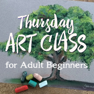 Thursday Pastel Art Class Brisbane