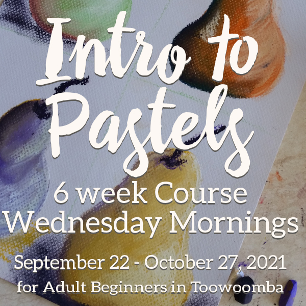 Intro to Soft Pastels - 6 Week Course. 22 Sept - 27 Oct 2021 9.30am - 12.30pm