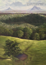 Afternoon-Grazing-in-Maleny-by-Jeanne-Cotter-Pastel
