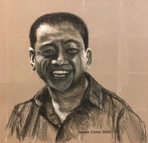 Ahn-Do-Portrait-in-charcoal-by-Jeanne-Cotter