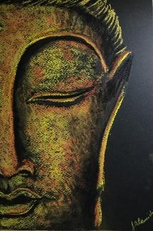 Buddha Art Class at Delicious Art 2019 6