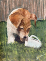 Juno and Tea by Jeanne Cotter