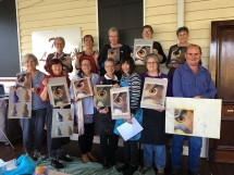 Kilcoy Art Society Intro to Pastels Workshop with Jeanne Cotter 2019 12256