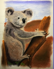Koala Painting at Delicious Art Brisbane 2019 5