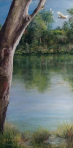 River Reflections by Jeanne Cotter