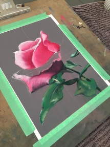 Rose artclass at delicious art Brisbane 2019 866
