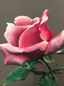 Rose artclass at delicious art Brisbane 2019 Lynne