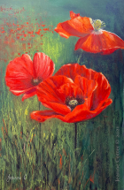 Three-Generations---Poppies-for-Andrew-by-Jeanne-Cotter