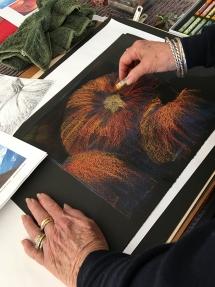 Winter Workshop at Delicious Art Pastel Classes 2019 177